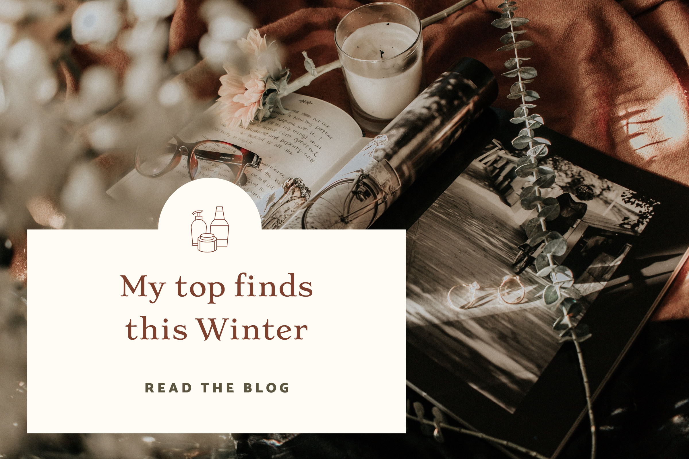 Fashion blogger template design - My top finds this Winter
