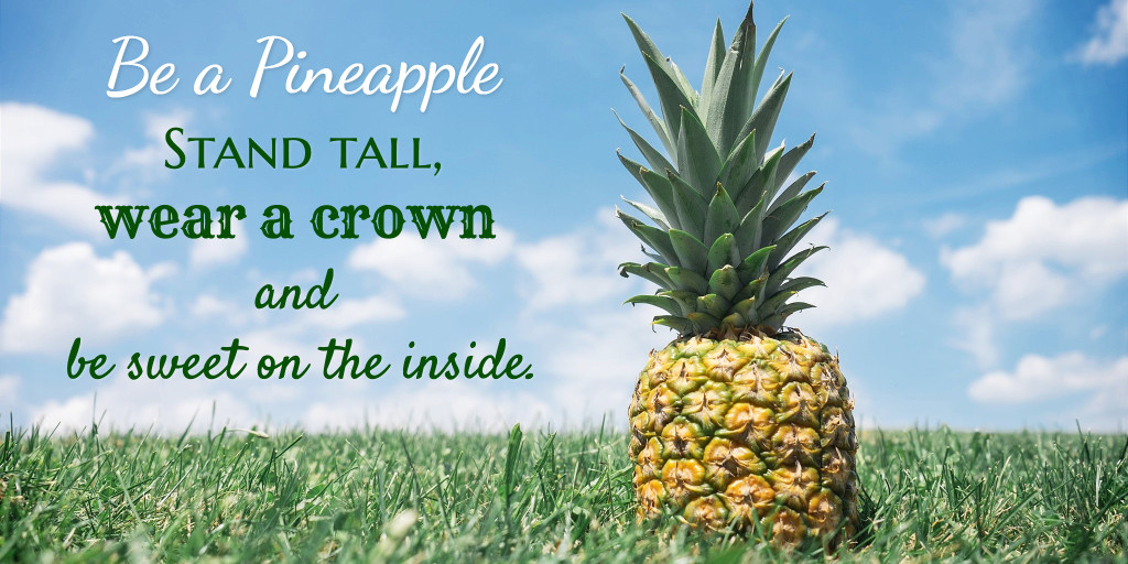 Stand tall and wear a crown
