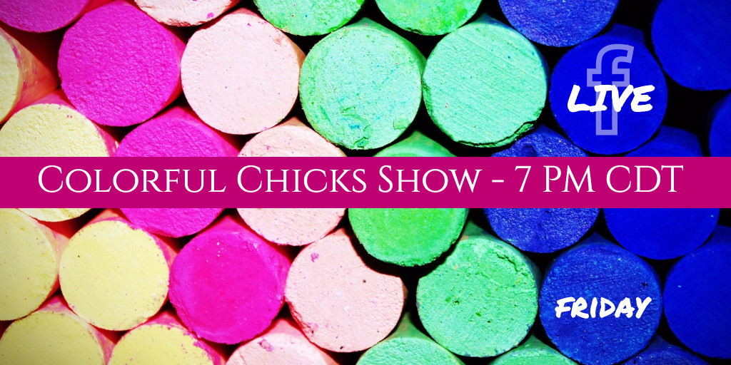 Colorful chicks show