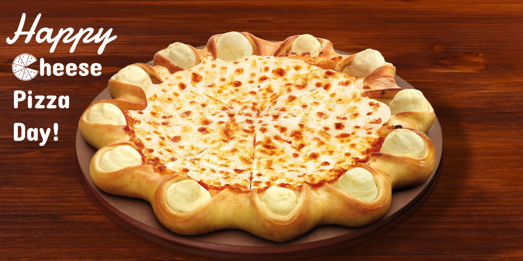 Happy cheese pizza day
