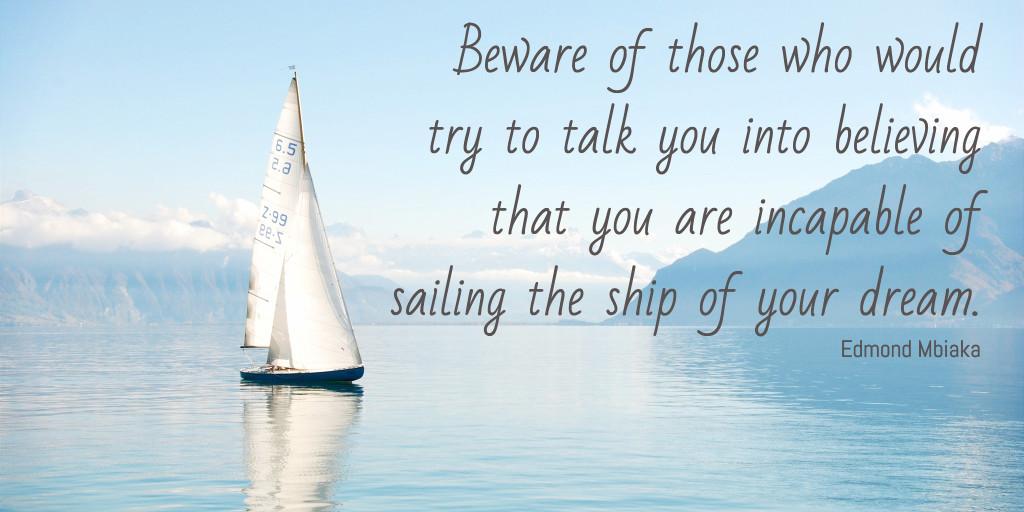 Beware of negative people