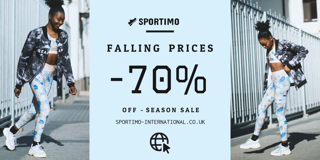 Sportimo falling prices