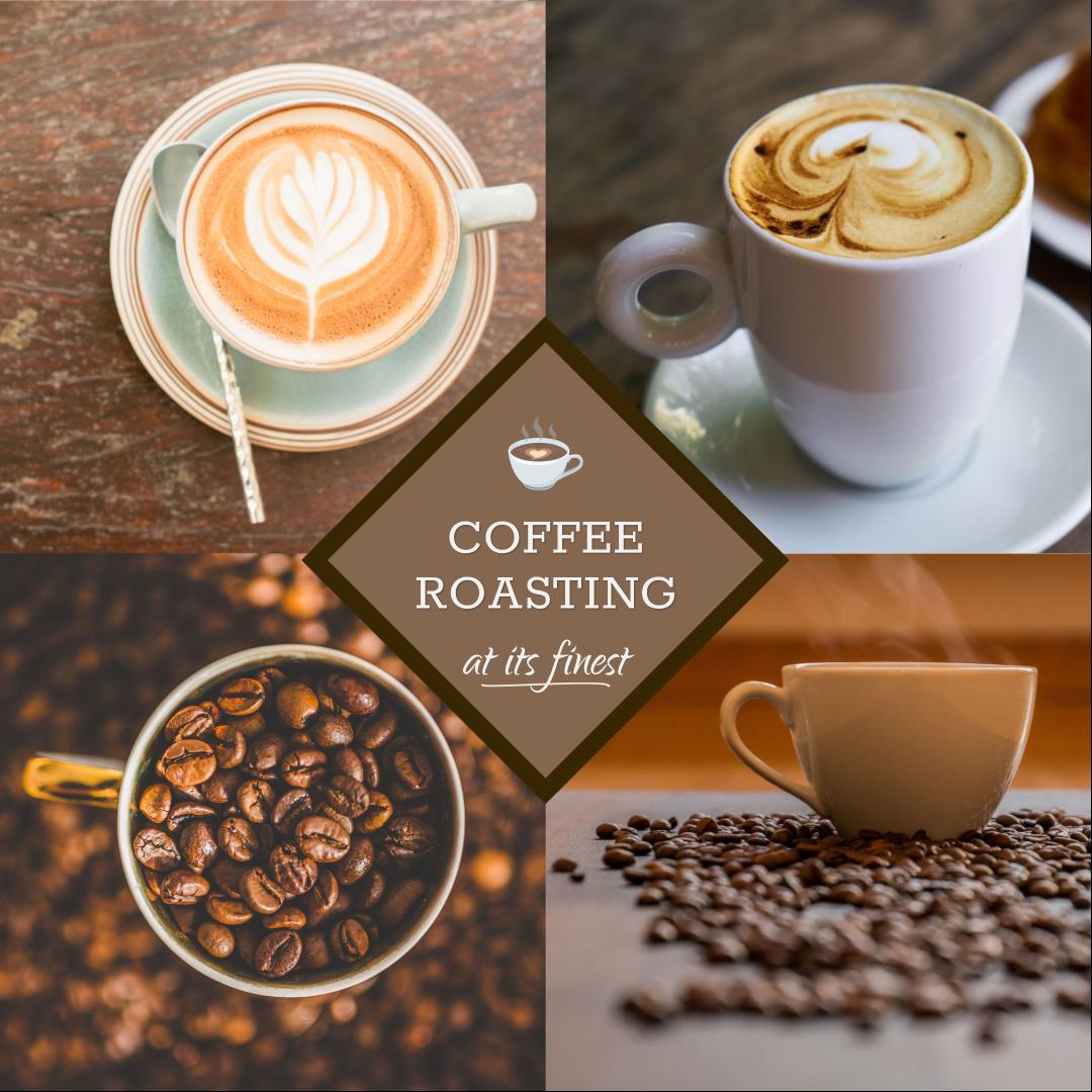 Coffee Roasting At It S Finest Templates Stencil