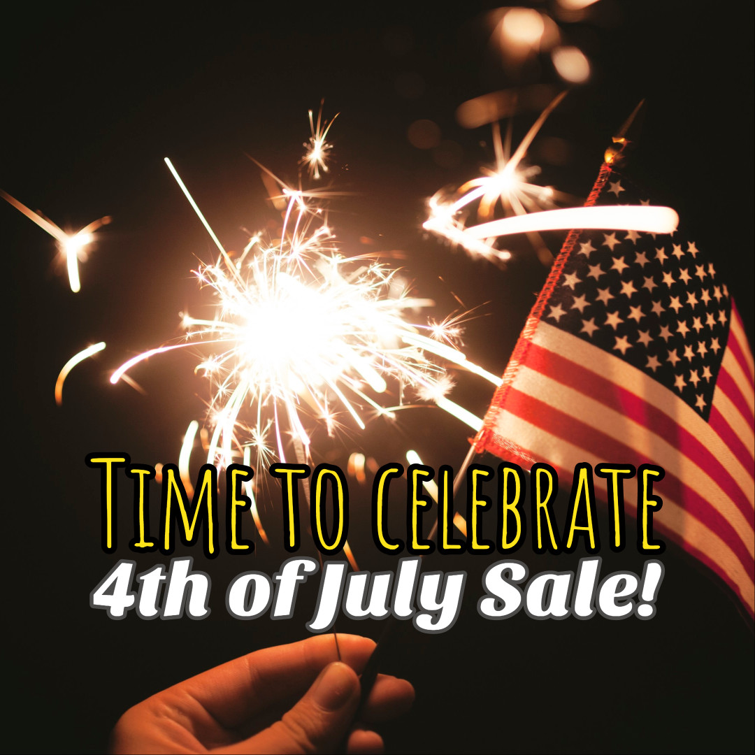 Time to celebrate 4th of July sale