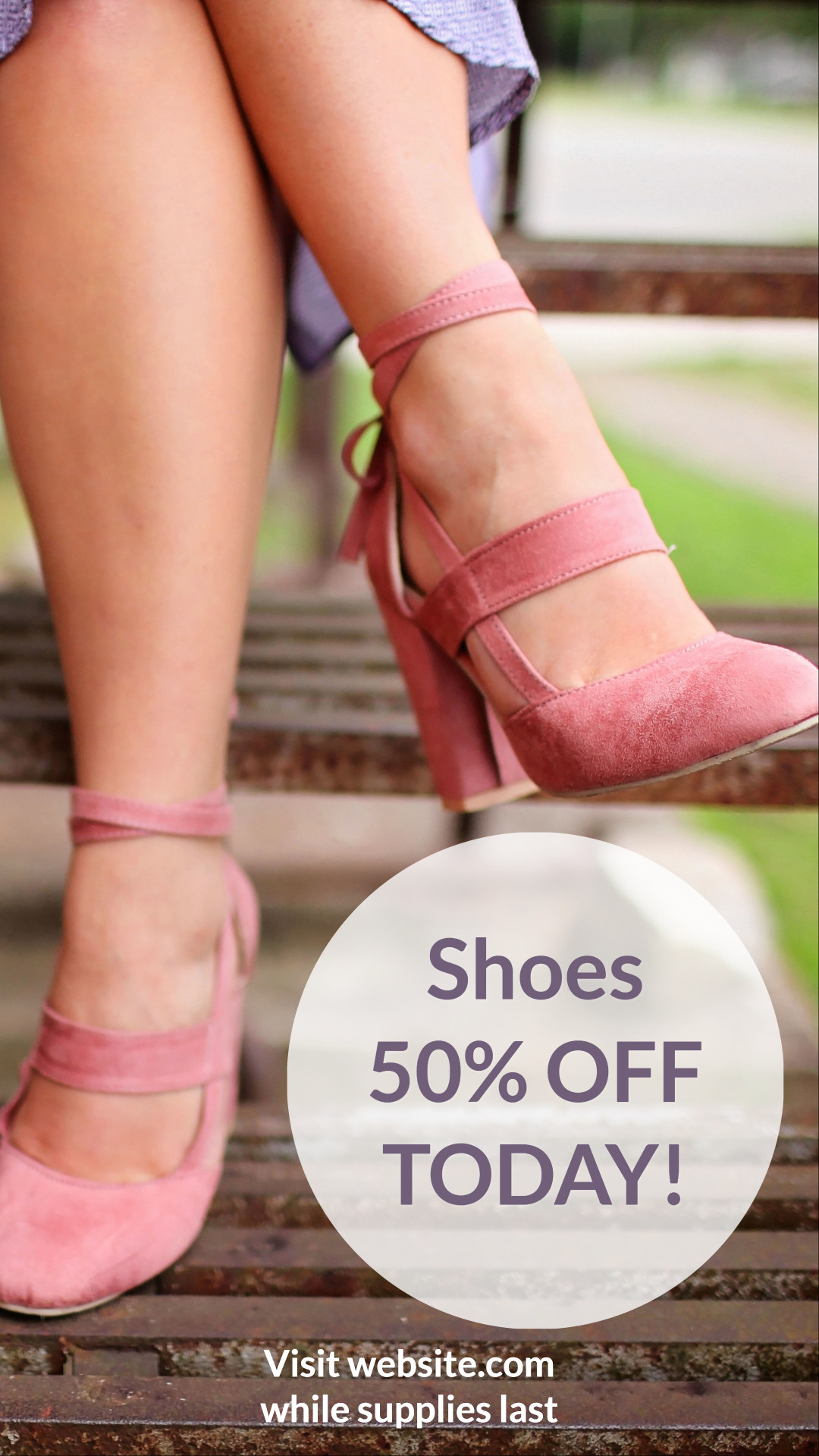 Shoes 50% off today
