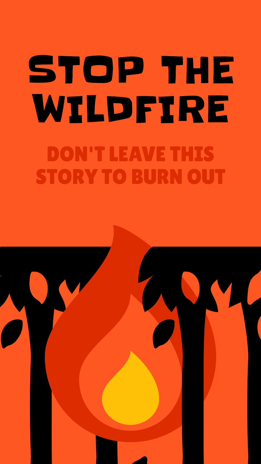 Stop the wildfire - awareness