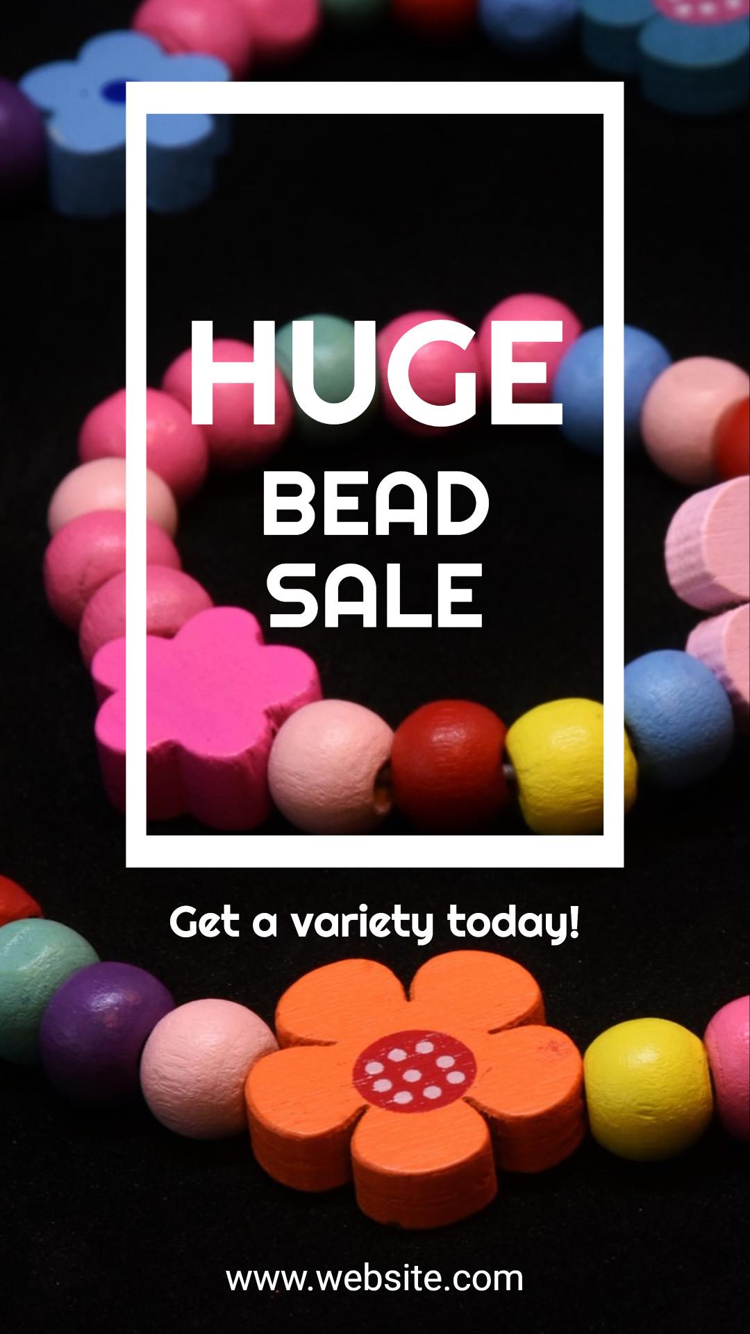 Huge bead sale - Today