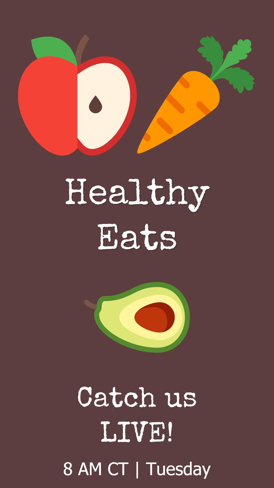 Healthy Eats - Live