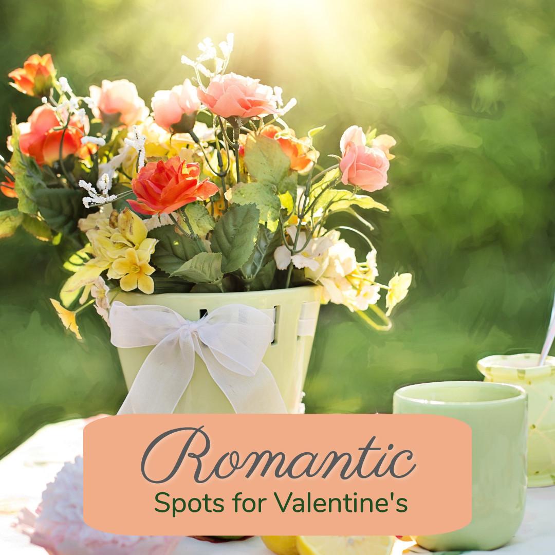 Romantic spots for Valentine's