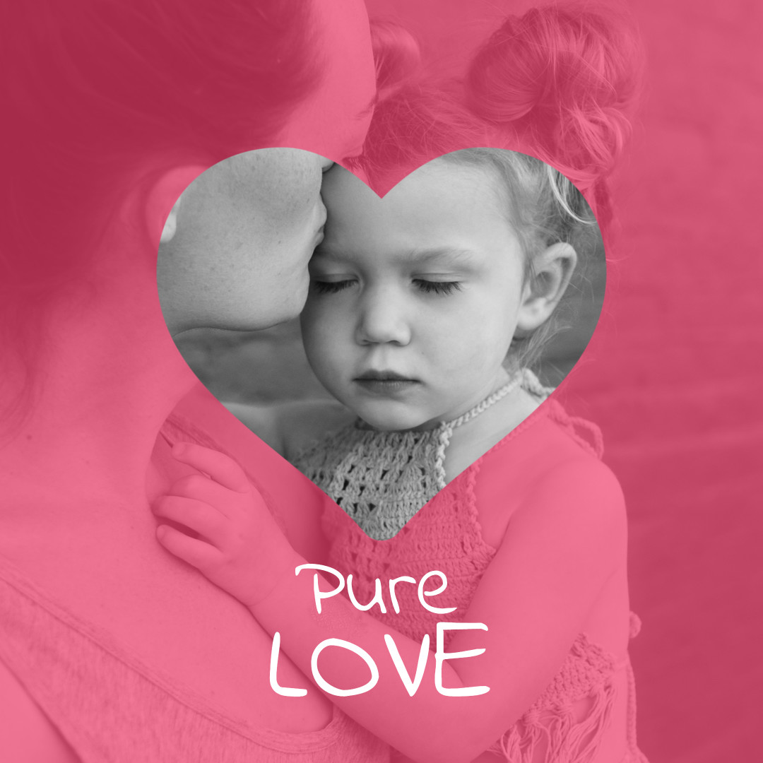 Mother and child - pure love