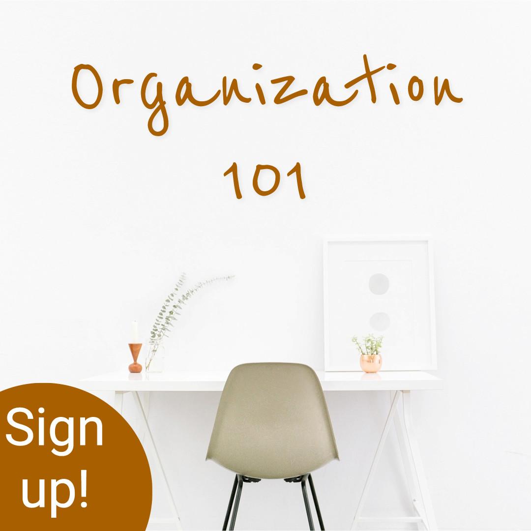 Organization - Sign up