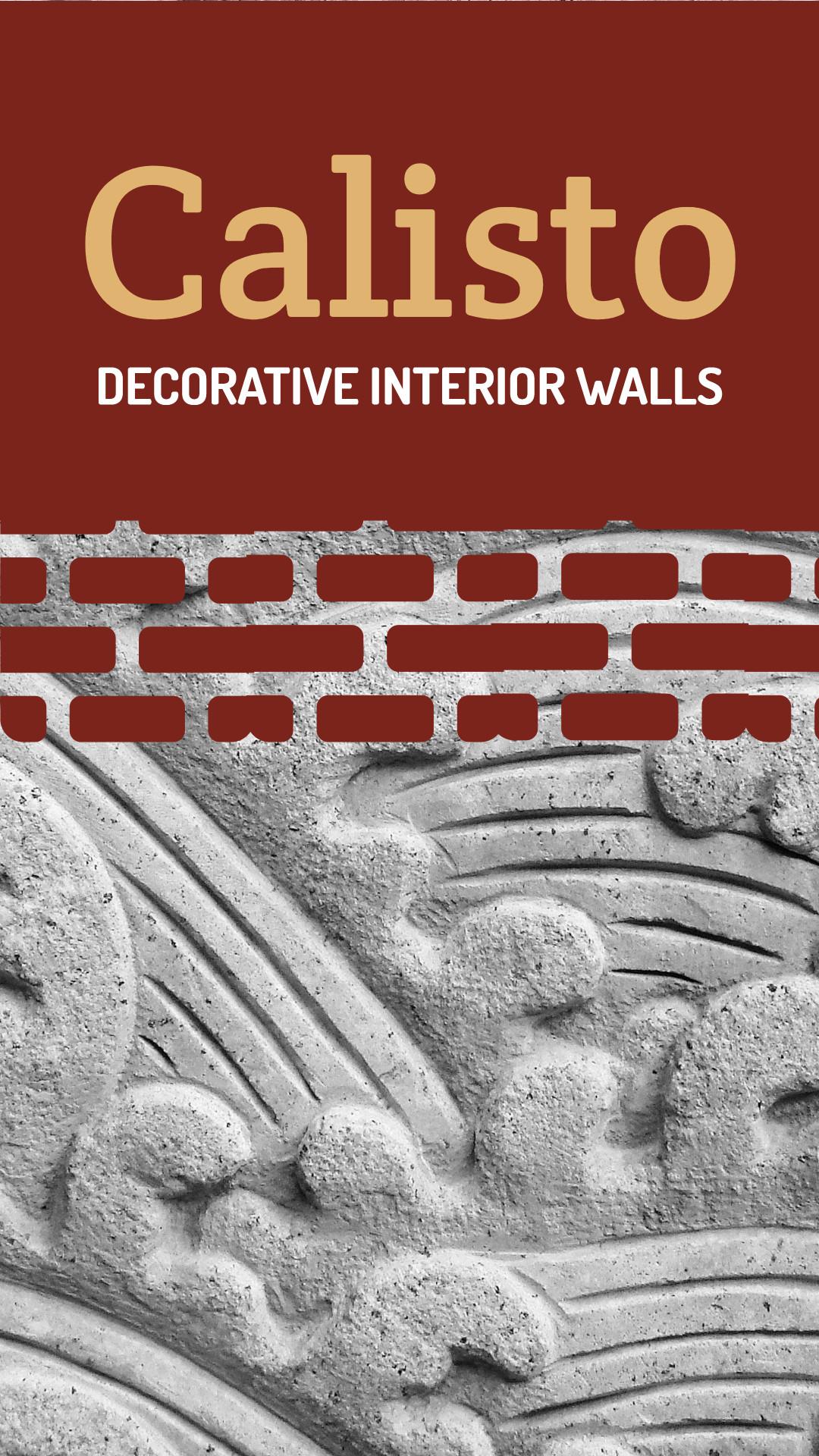 Calisto - Decorative interior walls