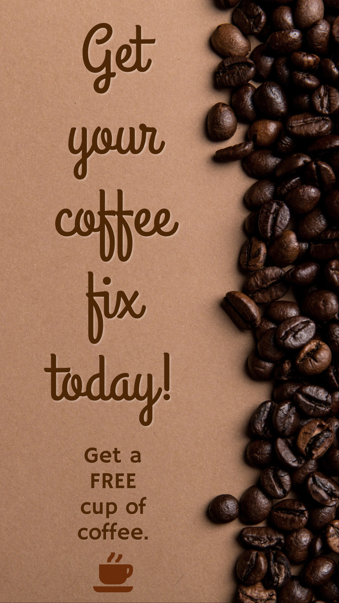 Get your coffee fix today