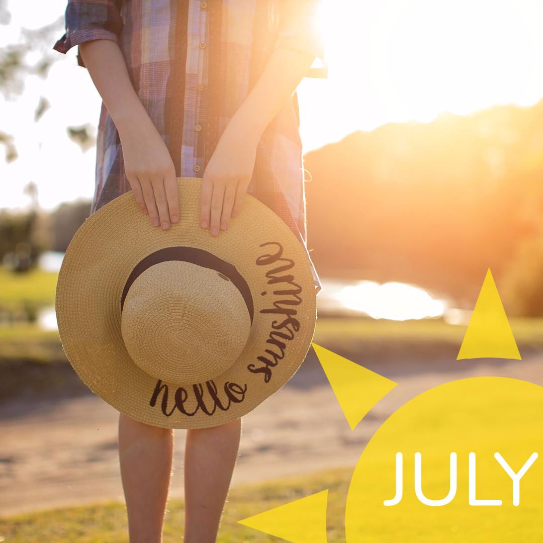 July - Hello sunshine