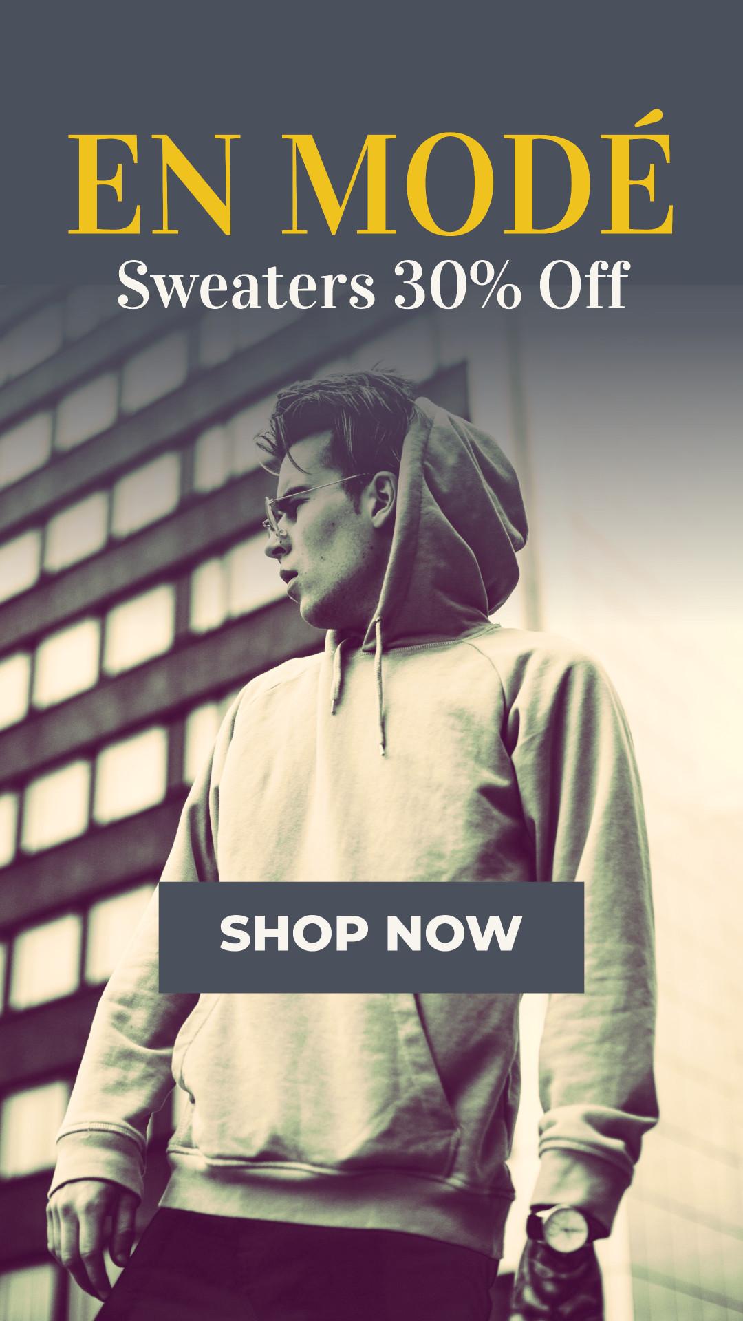 En mode - Sweaters 30% off