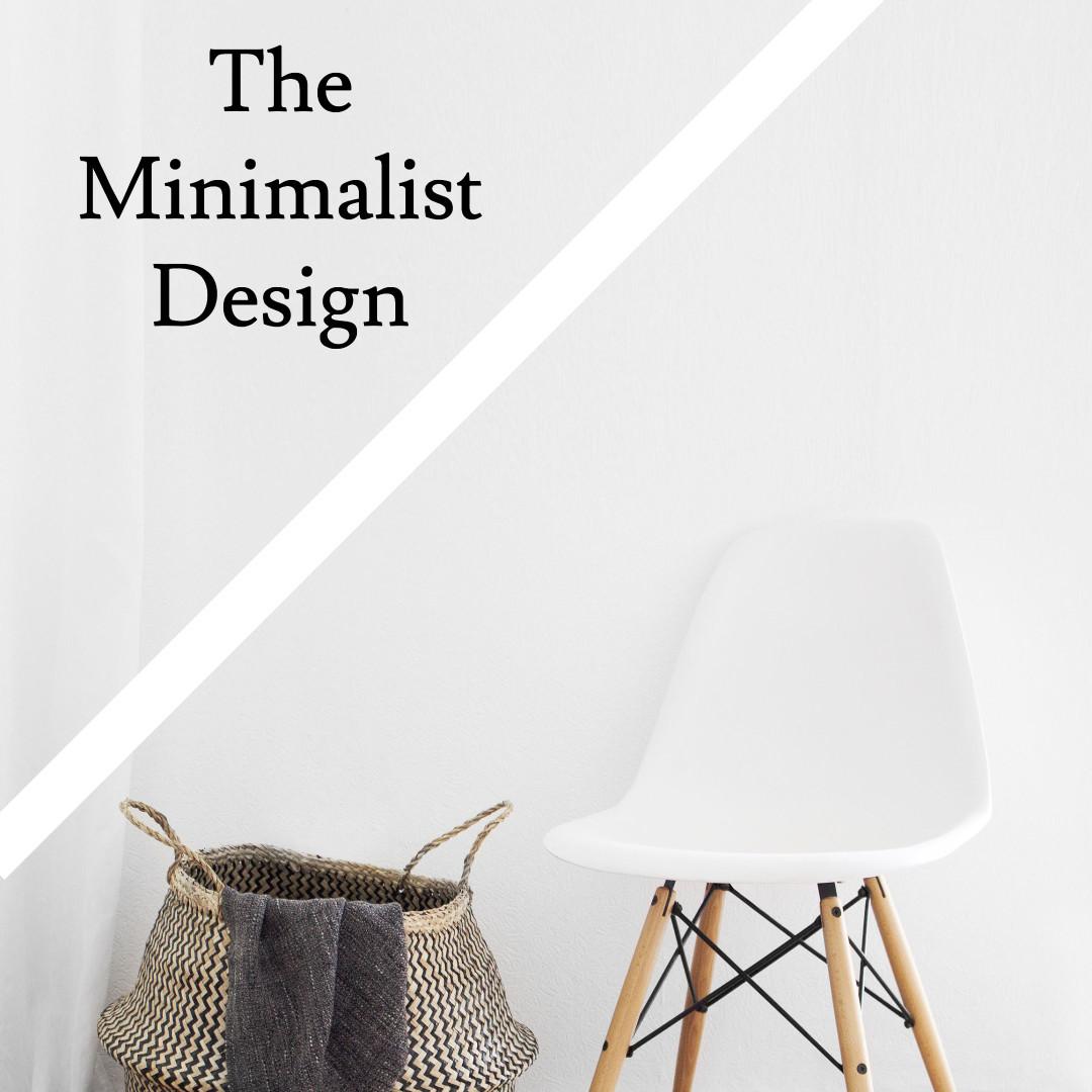 The minimalist design