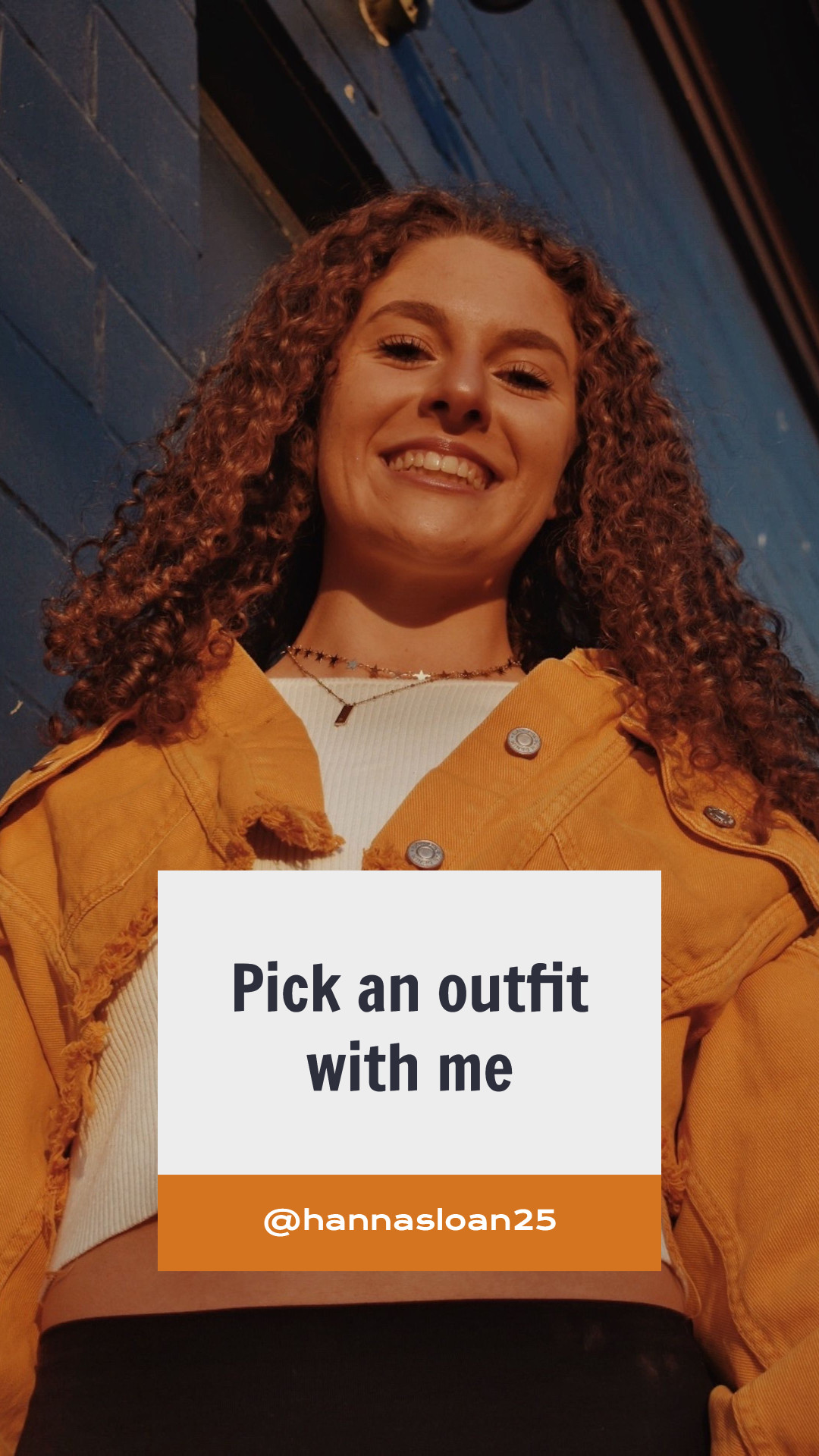 Instagram story template for an fashion blogger or store