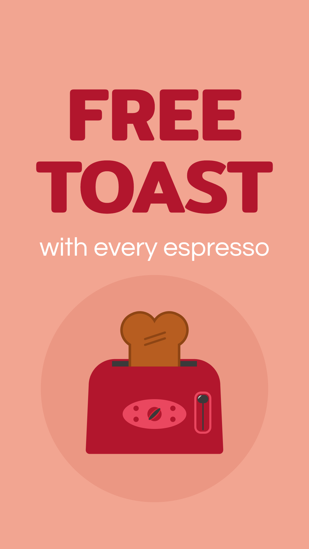 Free toast with every espresso