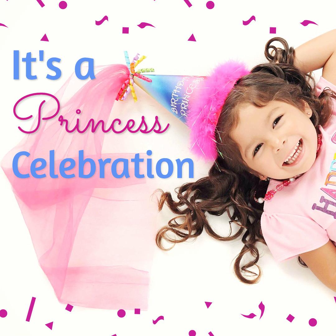 It's a princess celebration