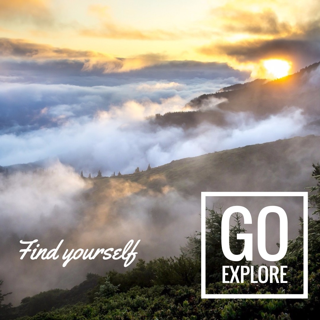 Find yourself - Go explore