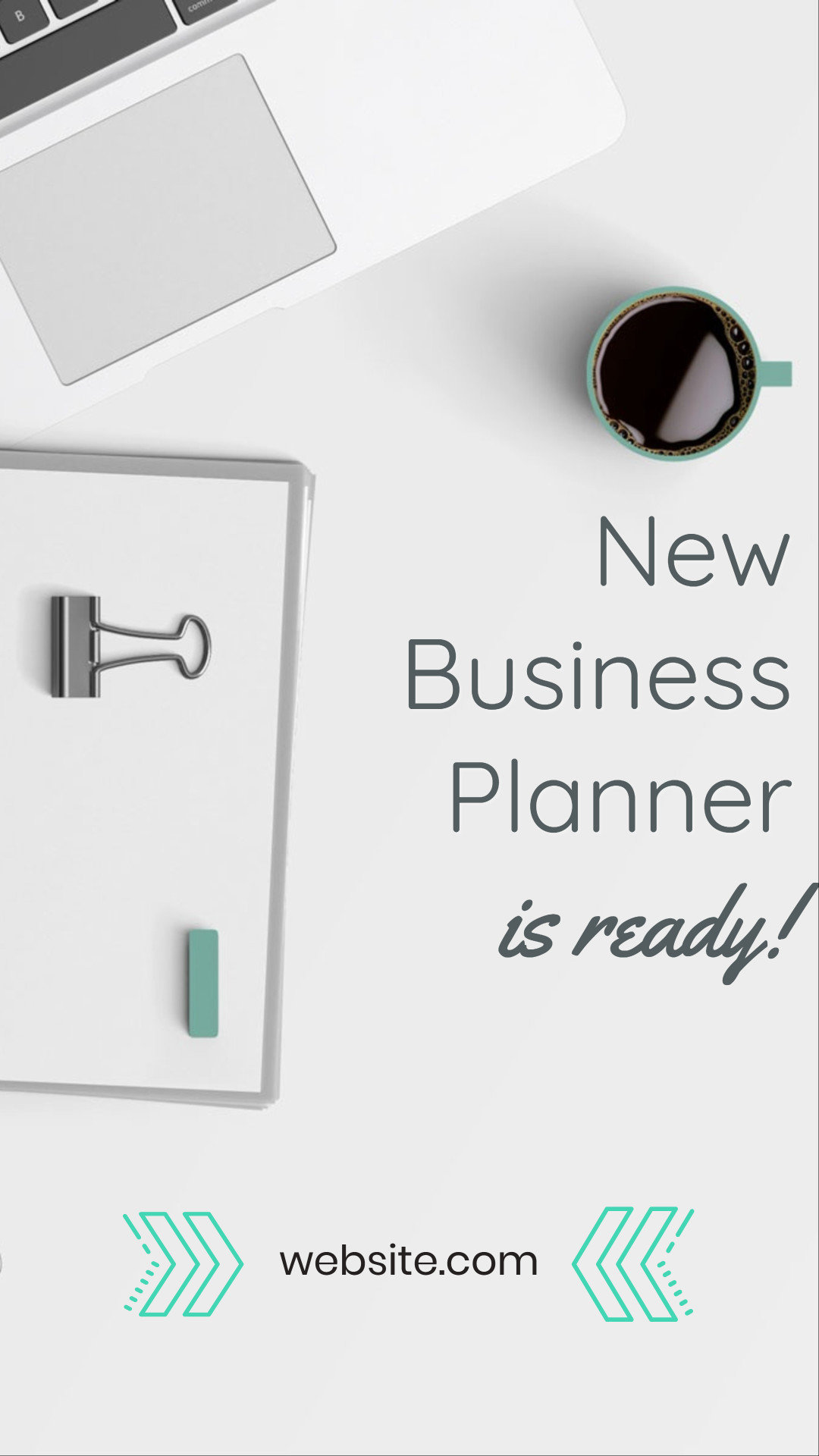 New business planner is ready