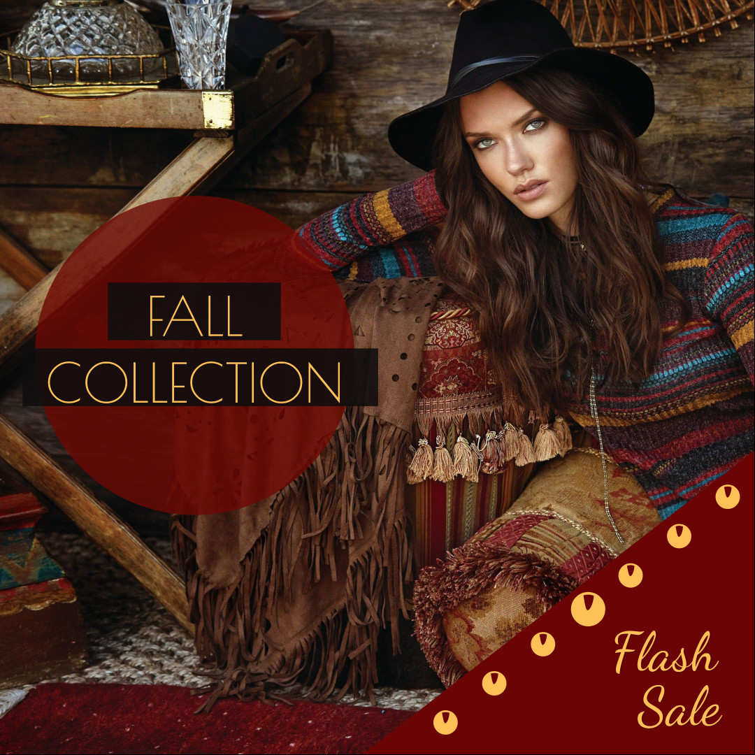 Fall collection - flash sale