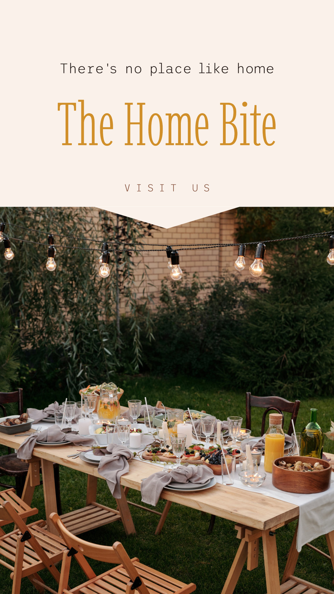 Restaurant Instagram story template design