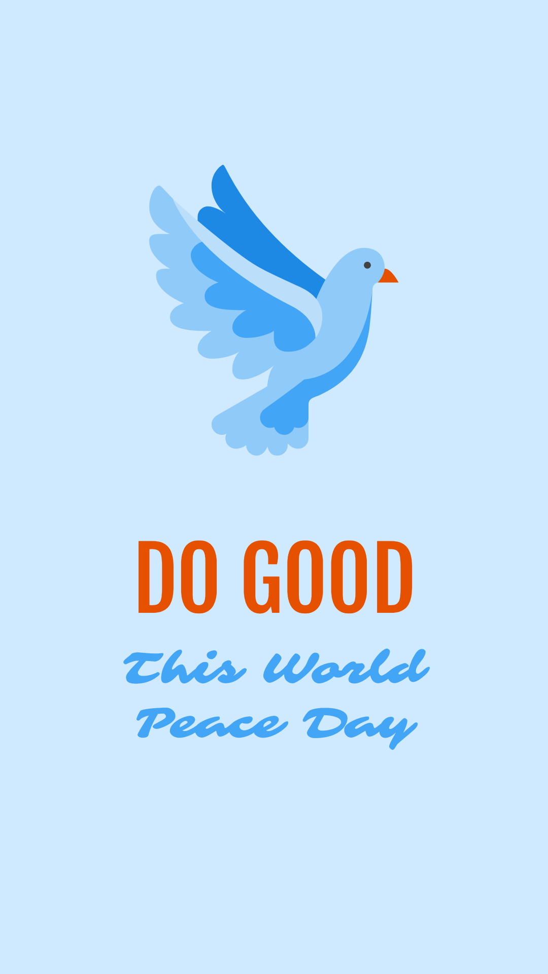 Do good this world peace day