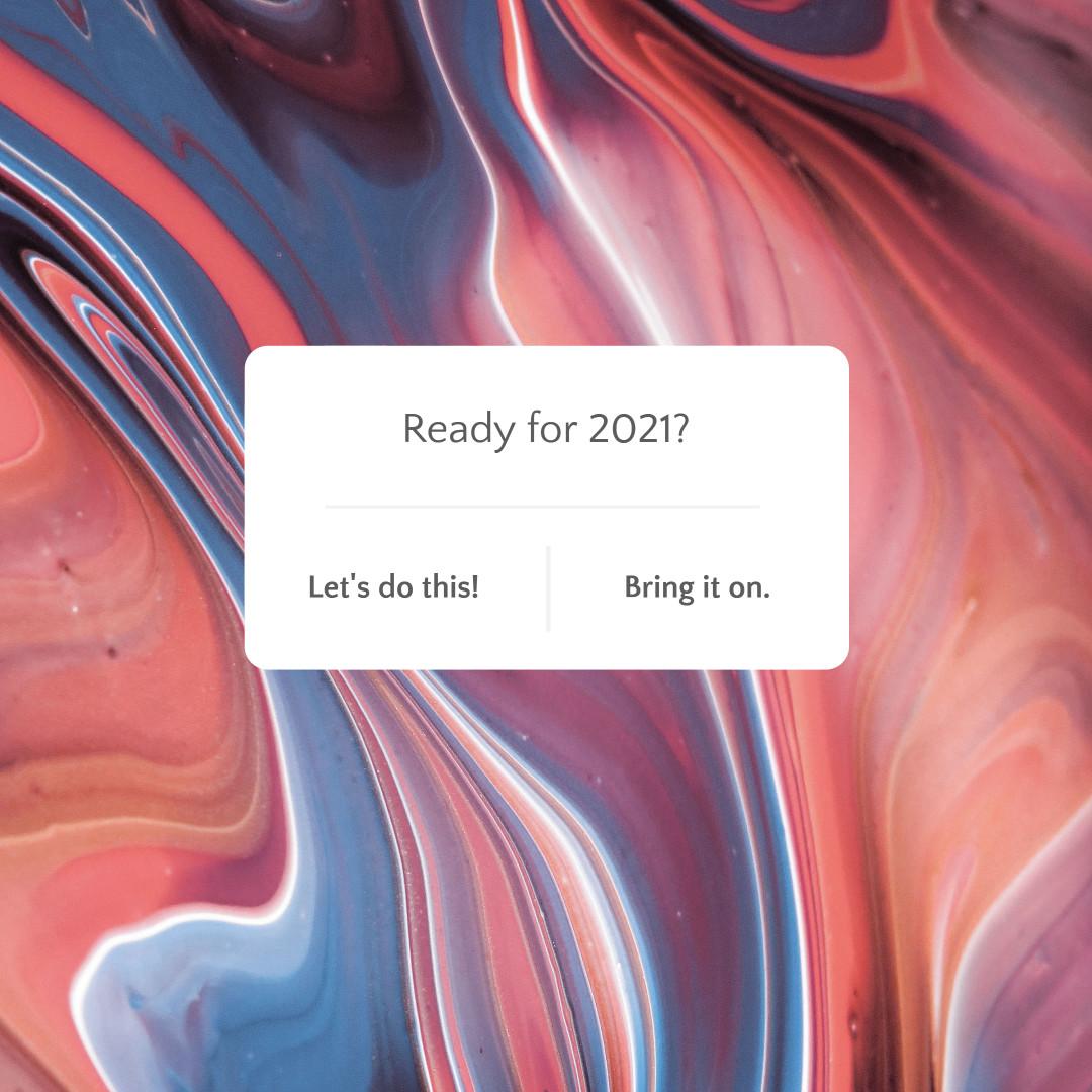 Minimalist UI engagement template design