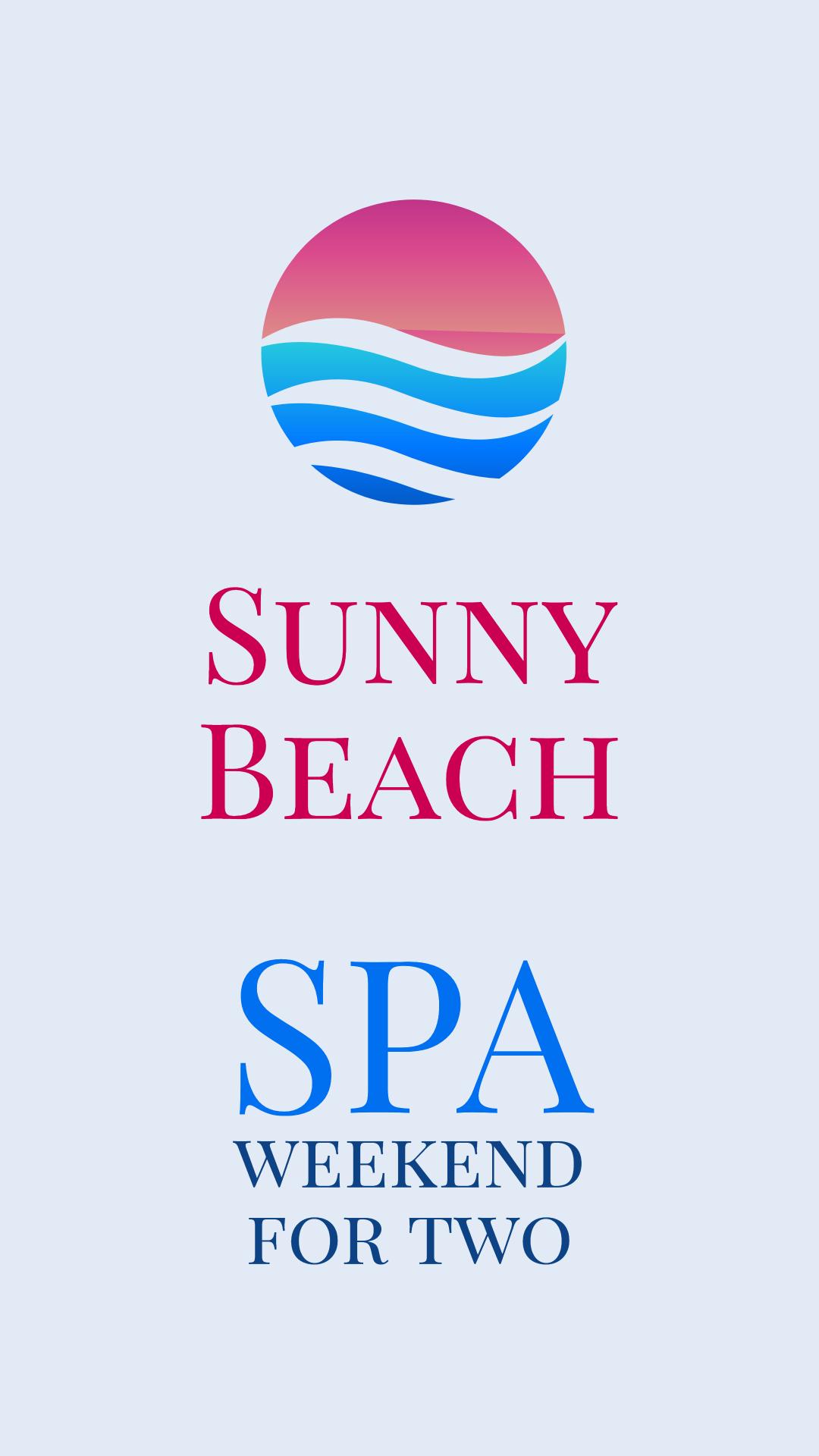 Sunny beach spa weekend