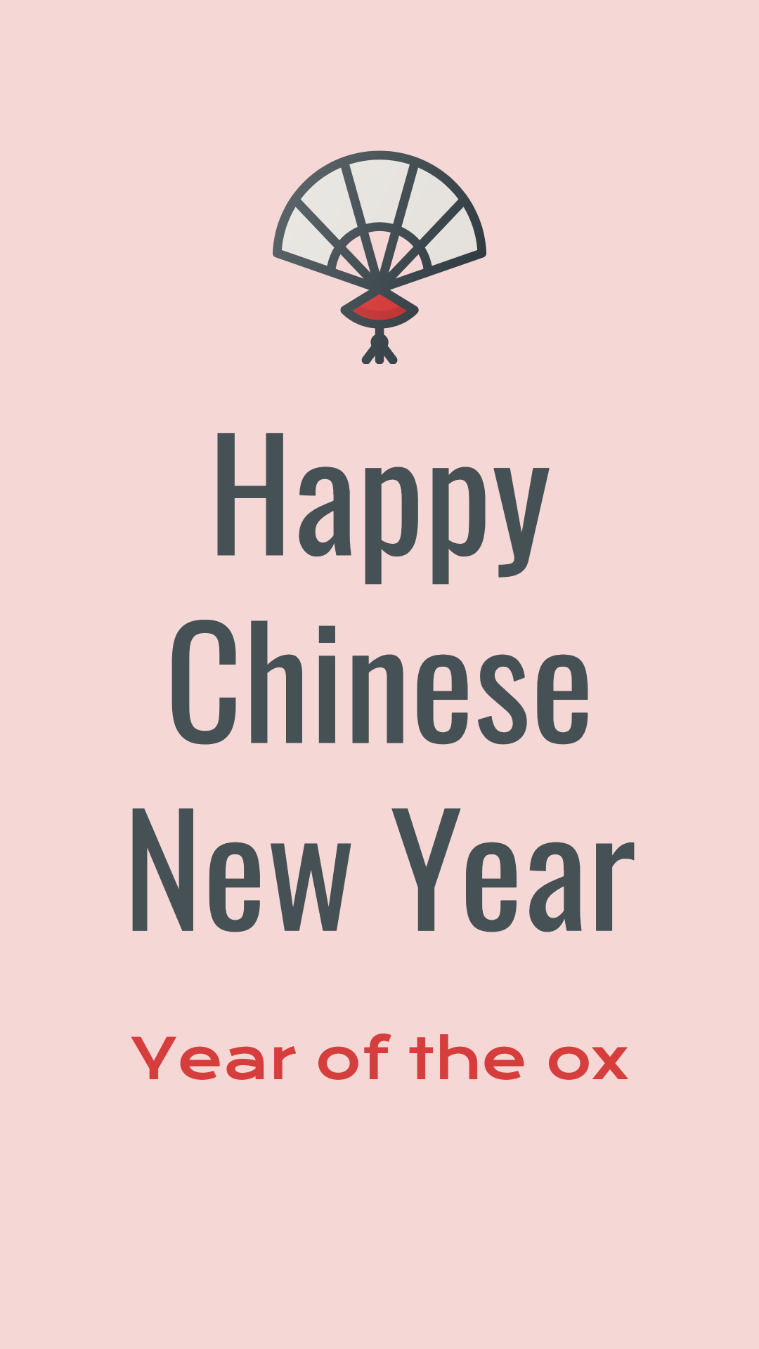 Chinese New Year template design