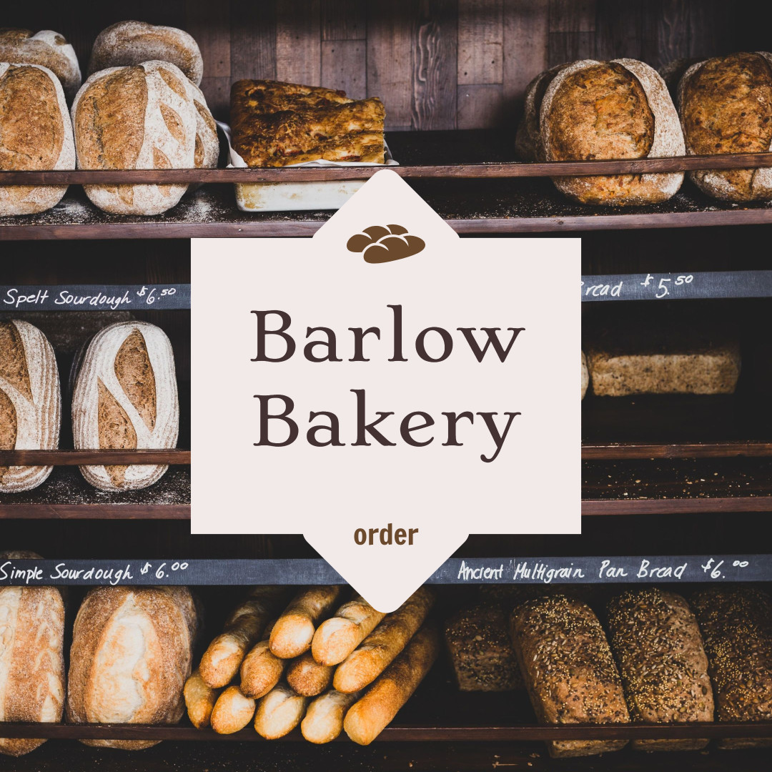Bakery ad template design