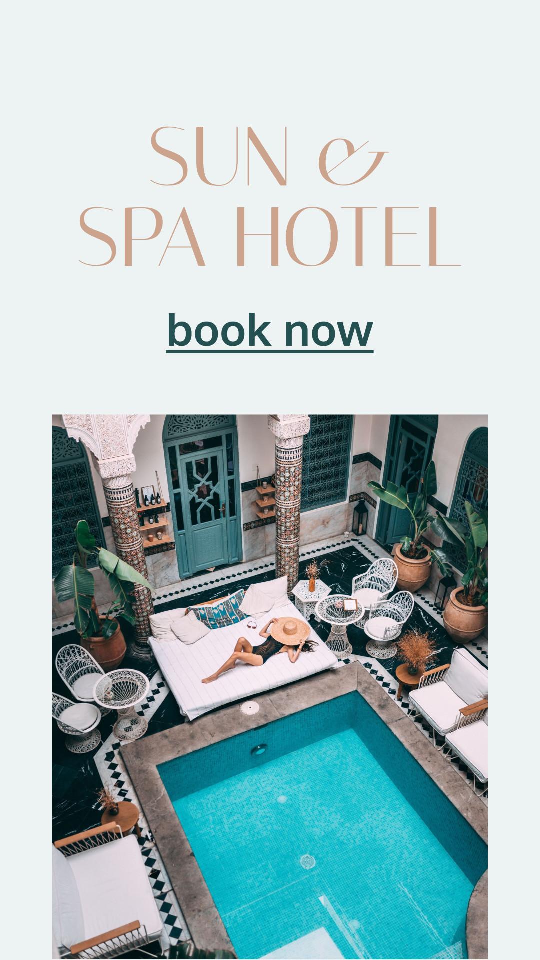 Sun & SPA Hotel - Book Now