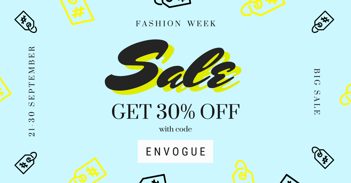 Fashion week - sale