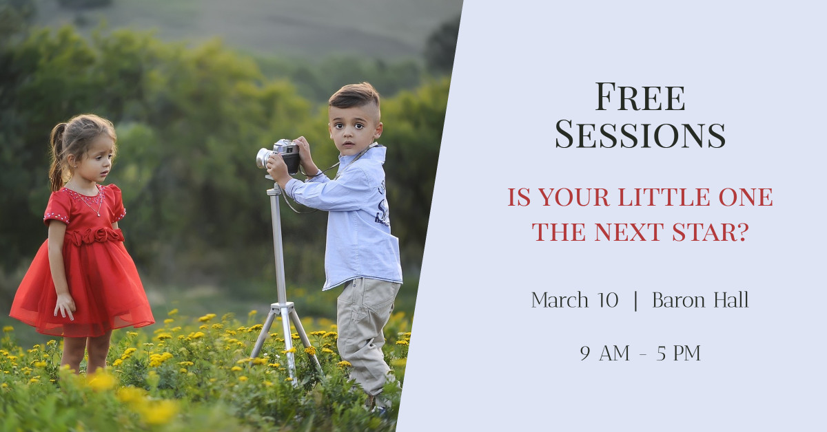 Free Photography Sessions for Children