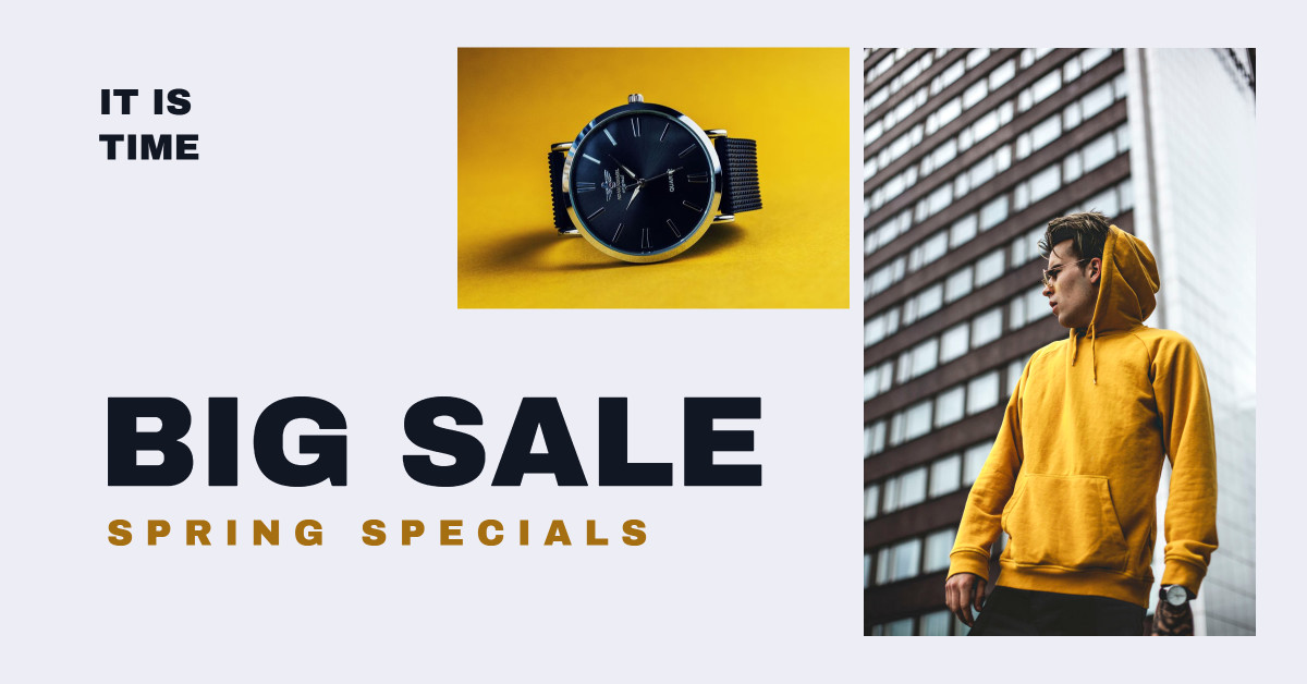 Spring Specials: Big Sale