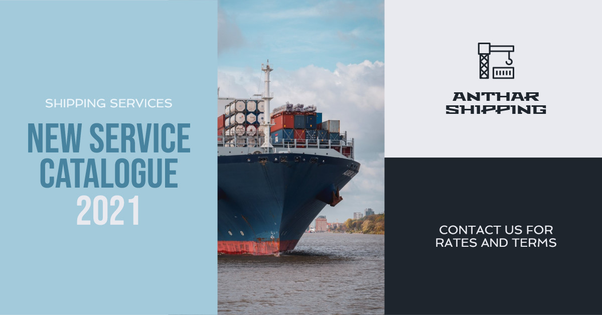 New Shipping Service Catalogue