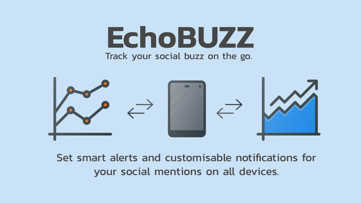 Track your social buzz on the go