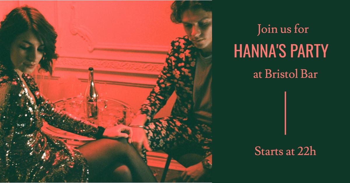 Hanna's Party at Bristol Bar
