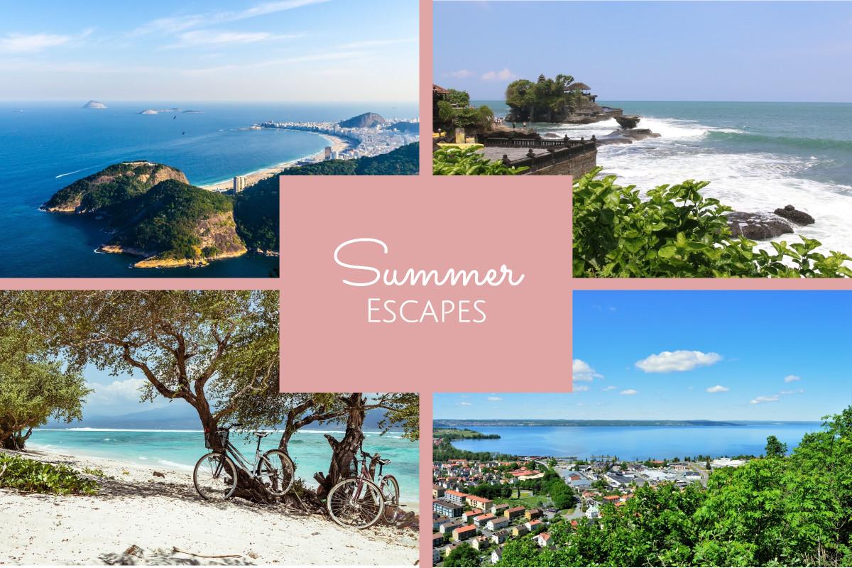 Summer escape places