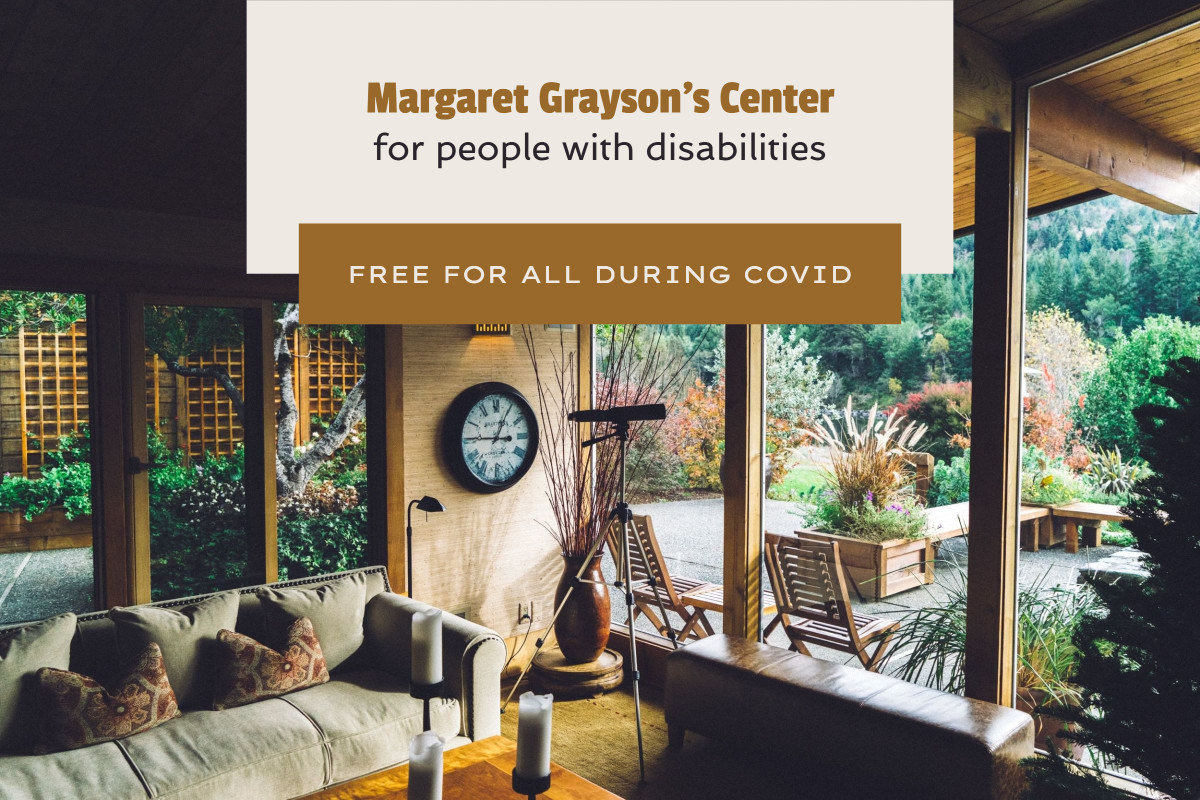 Template design for a center for people with disabilities