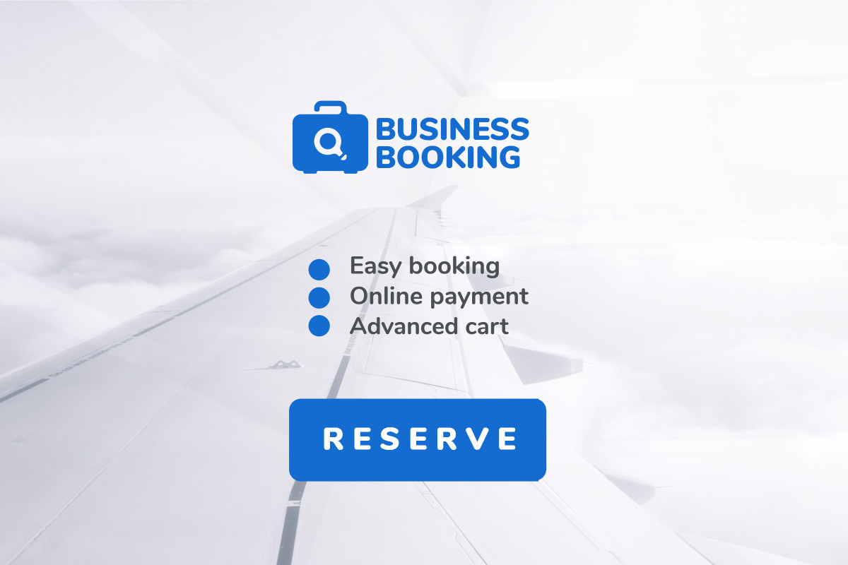 Business booking flights