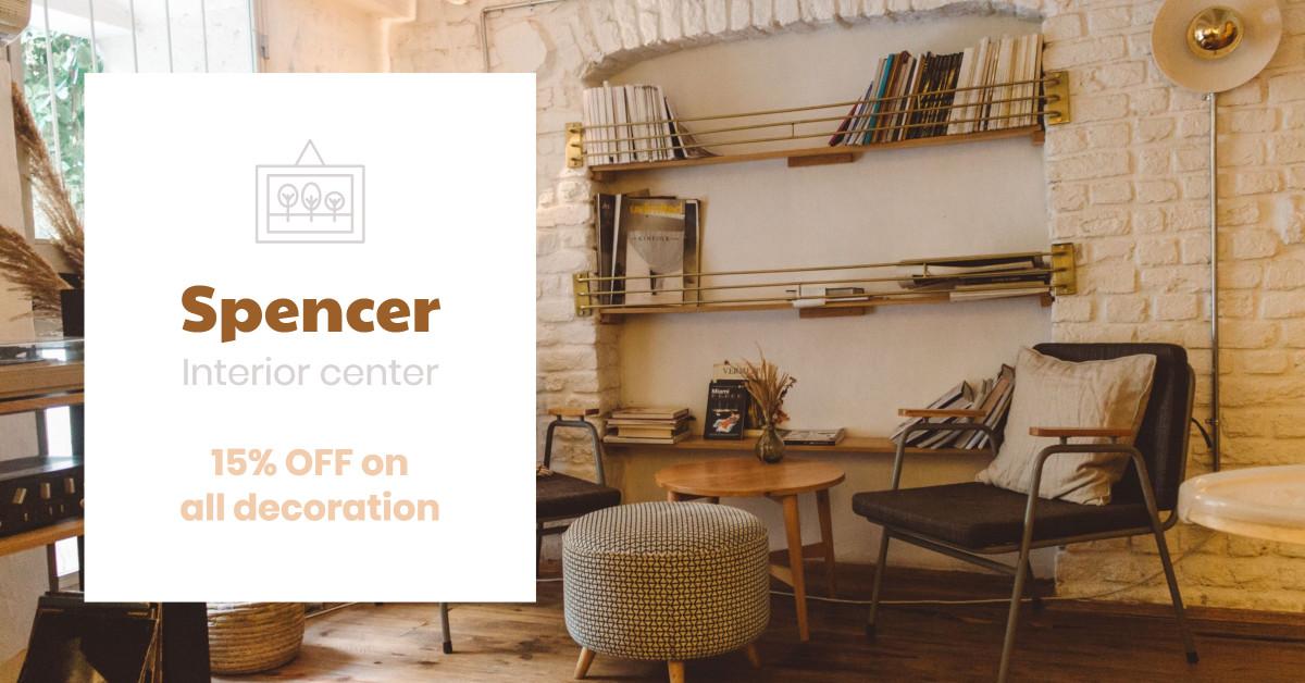 Spencer Interior Center - 15% Off