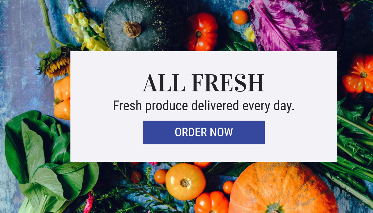 Fresh Produce Delivered Every Day