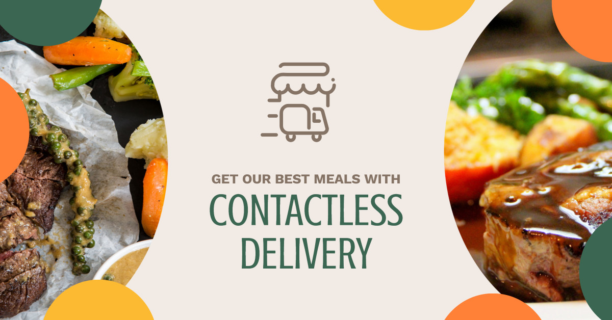 Get our best meals with free contactless delivery