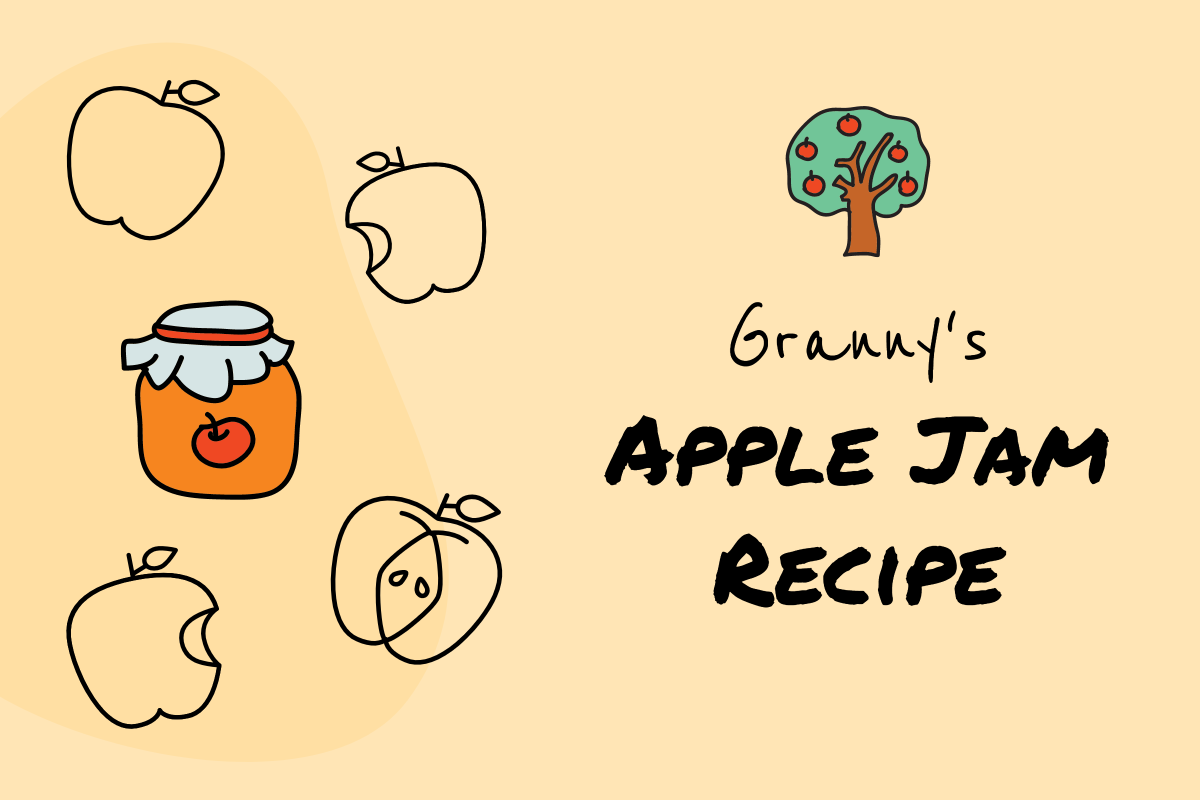 Granny's apple jam recipe