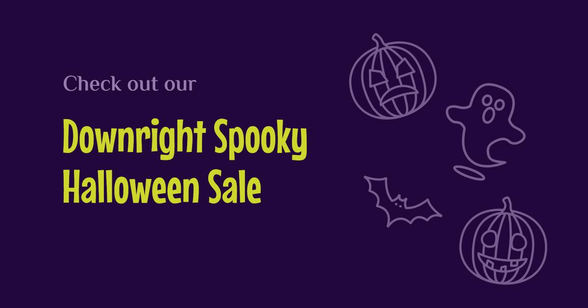 Downright spooky Halloween sale