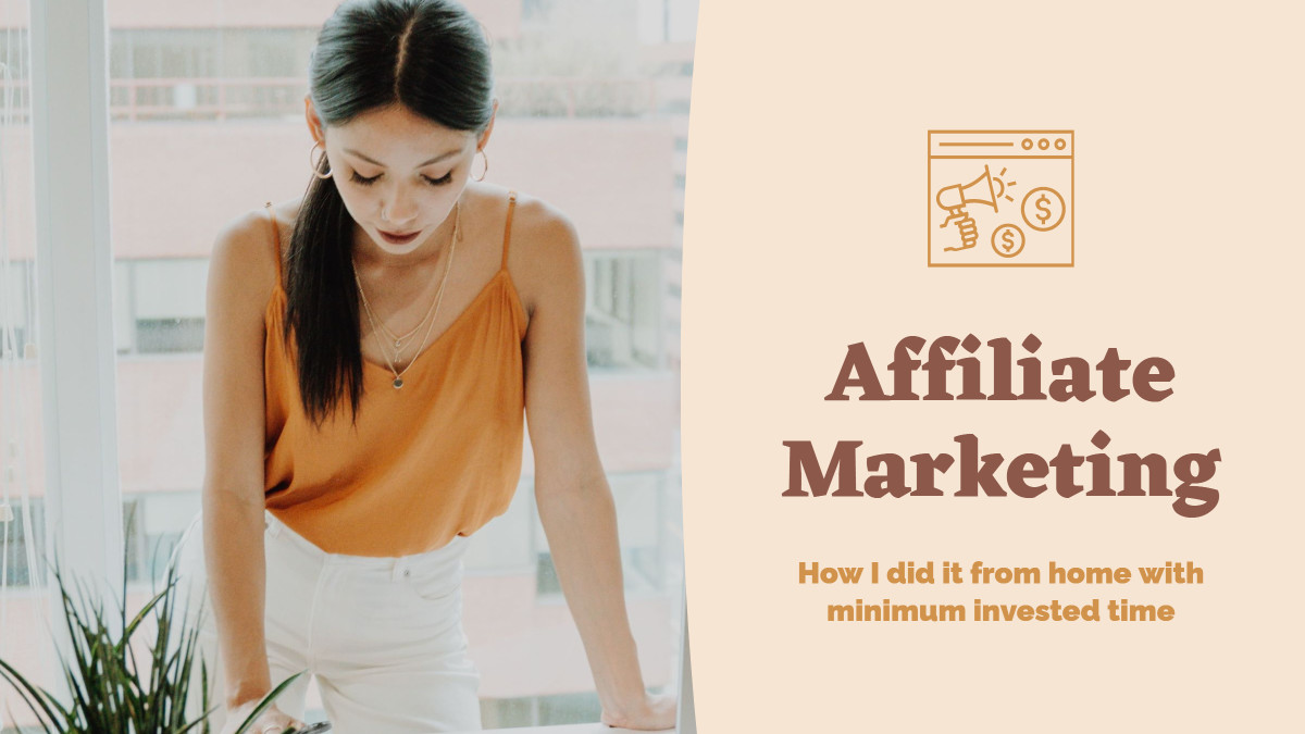 Template design for affiliate marketers