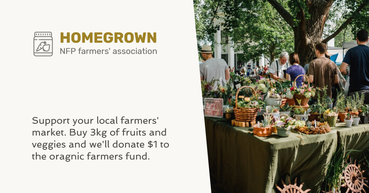 Homegrown supports local farmers