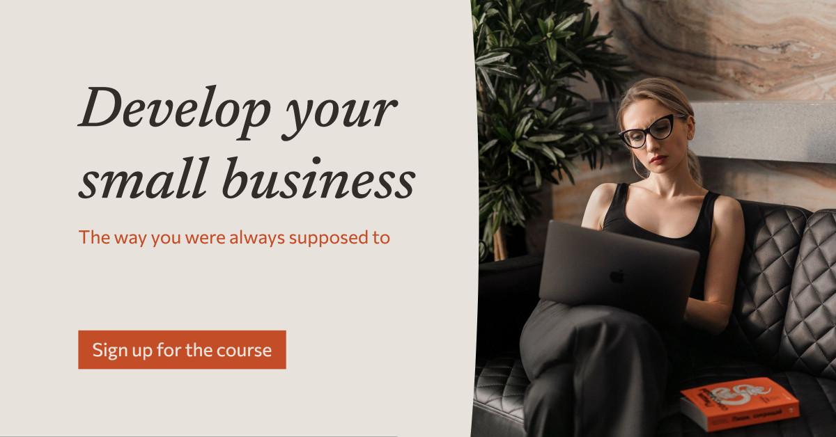 Social media publication for business courses